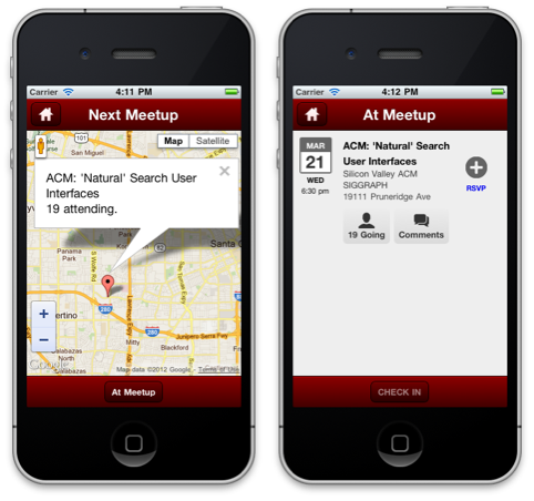 Meetcha—Using Sencha Touch to Build a Mobile App for Meetup