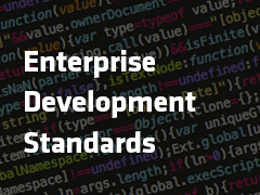 Creating Development Standards in the Enterprise