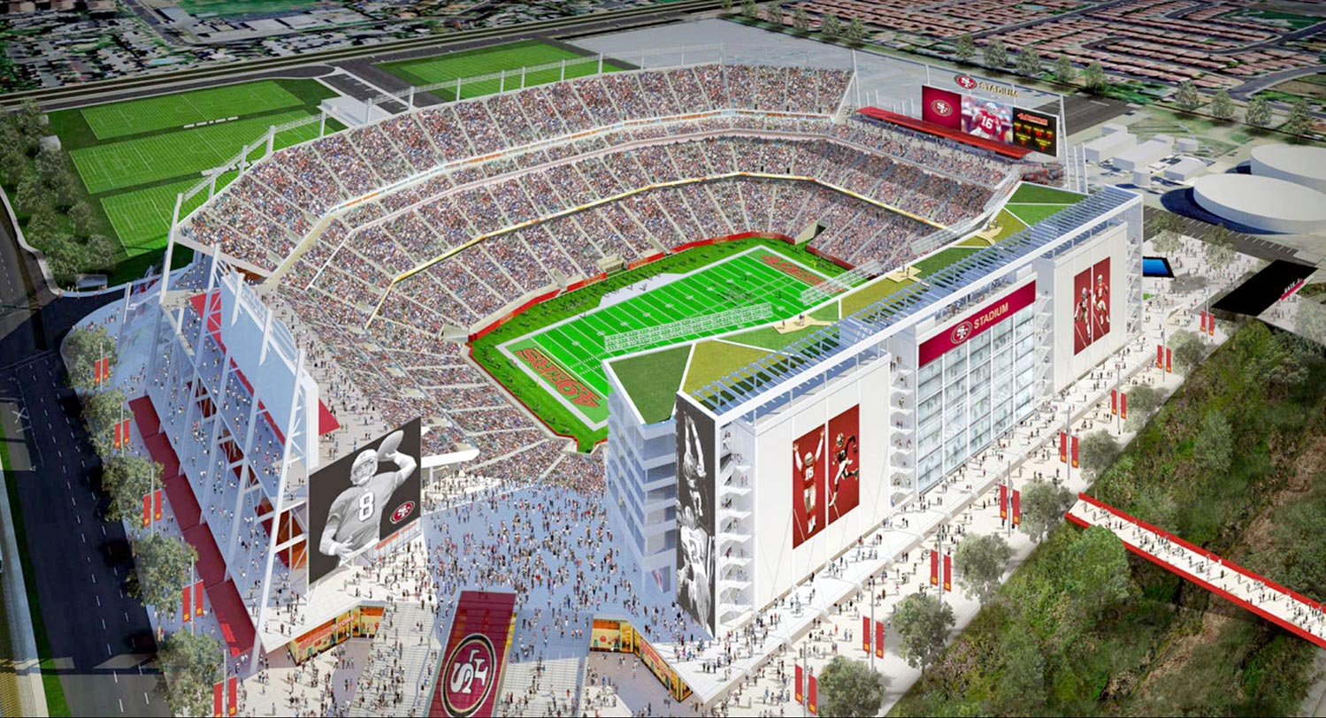 new 49ers football stadium