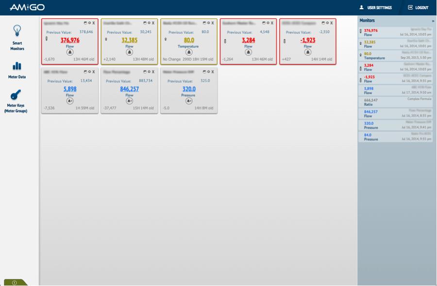 Main screen with second custom theme