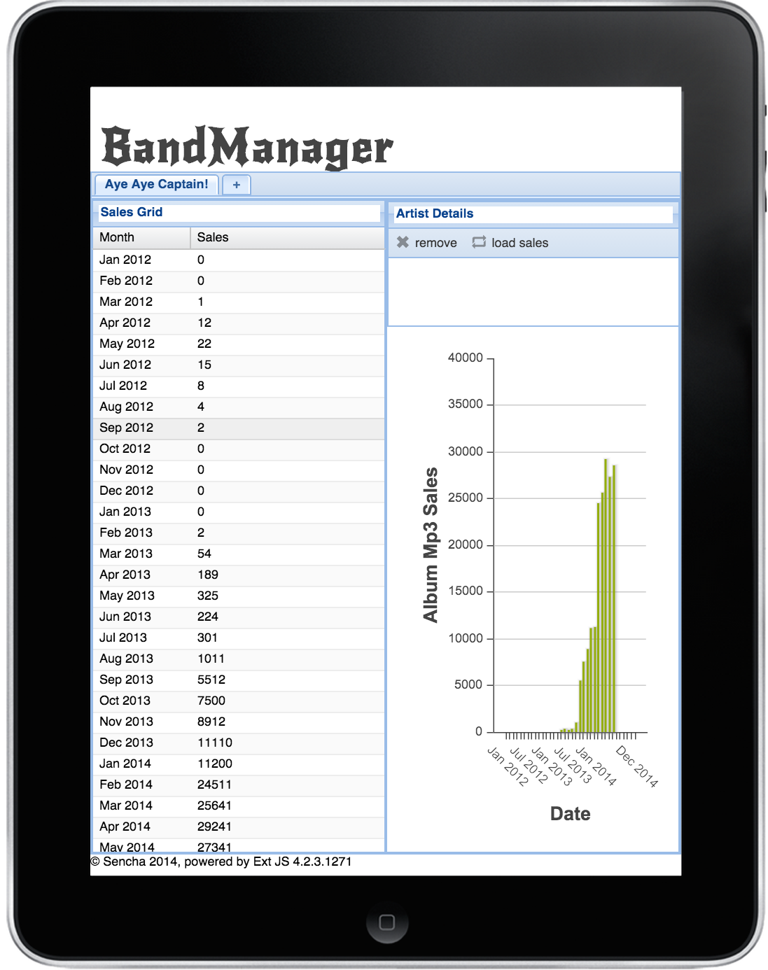Band Manager App