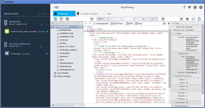 GapDebug (Windows version)
