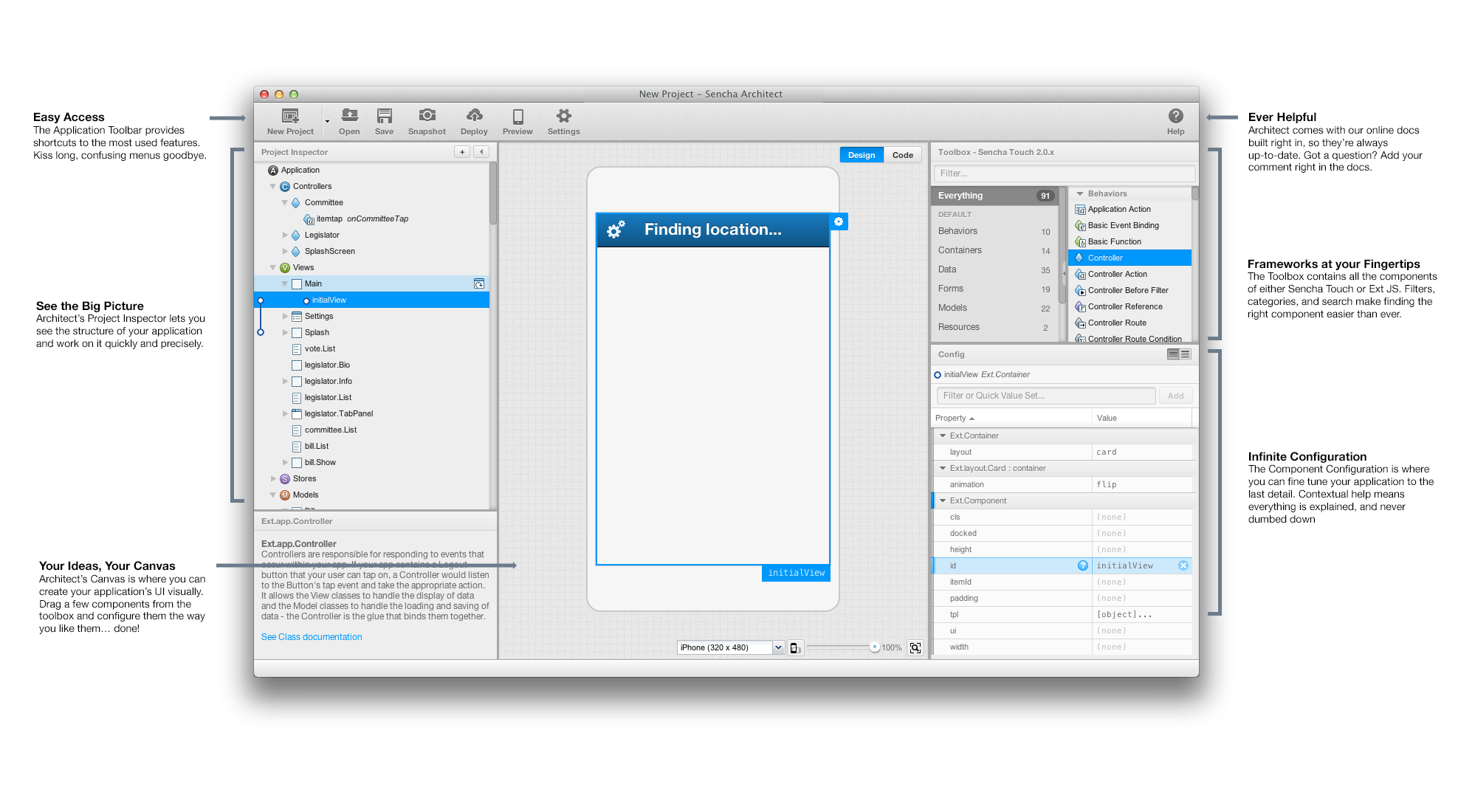 Introducing Sencha Architect 2: A Massive Upgrade of Ext Designer