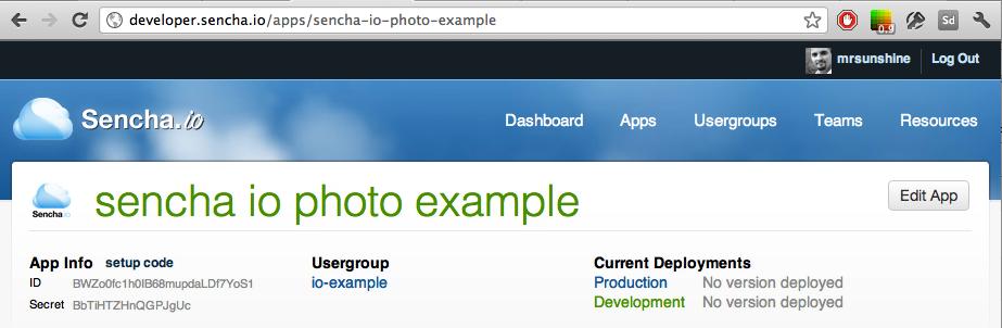 Edit Usergroup
