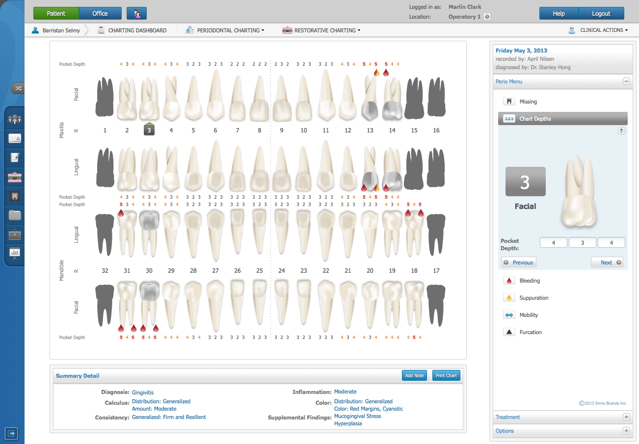 dental charting examples goal goodwinmetals co