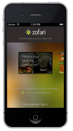 Sencha Touch Spotlight - Zofari