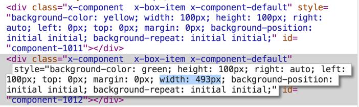 Ext JS 5 Markup