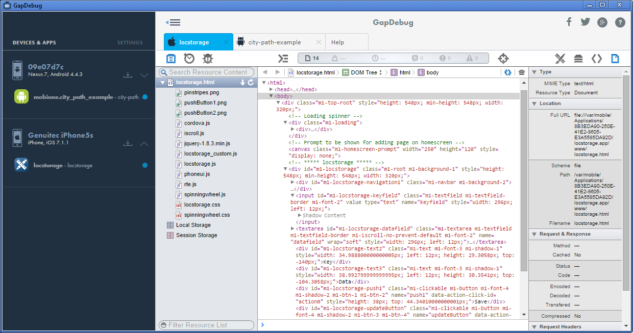 GapDebug (Windows version)
